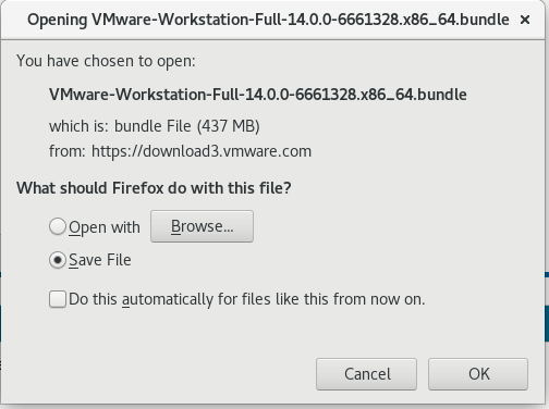 vmware workstation ubuntu